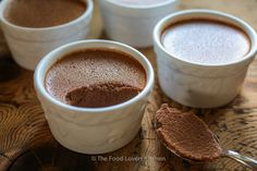 Fudgesicle Pudding Cups Use Swerve/stevia for low carb.