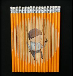 If It's Hip, It's Here: Pencil Sets by Melbourne Graffiti Artist Ghostpatrol