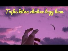 Tujhe kitna chahein Or hum - Kabir singh - jubin nautiyal- (Aesthetic version) Aesthetic Poetry, Working With Children, Vsco, Aesthetics, Printables, Album, Facebook, Youtube, Instagram