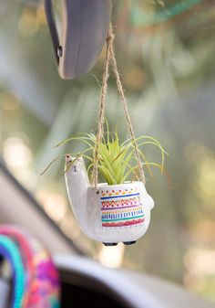 Search results for: 'car stuff llama mini hanging faux succulents' Natural Life Hanging Succulents, Faux Succulents, Succulent Pots, Hanging Terrarium, Succulent Gardening, Succulents Garden, Organic Gardening, Cute Car Accessories, Car Hanging Accessories