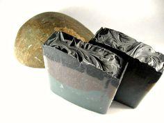 """BACK IN STOCK!...""""Dark Moon"""" Cold Process Men's Soap:"""