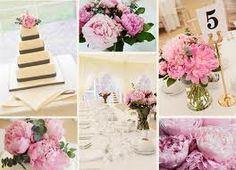 peonie  pink wedding