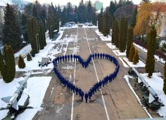 The Romanian army shows us some love. Make love, not war. Show Us, Romania, Army, Places, Outdoor Decor, People, Travel, Gi Joe, Viajes