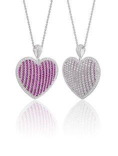 'Flashy' Heart Pendant
