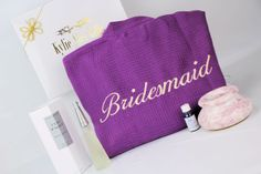 The Ultimate is the perfect Thank you gift for your Bridesmaid who you love and appreciate, this gift will remind your BFF of your special occasion every time they smell these glorious scents