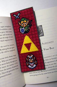 Zelda bookmark Thought you might like this,Dee :)