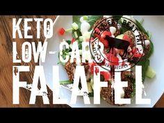 Keto Low-Carb Falafel - by Keto Veggie Recipes, Best Low Carb Recipes, Vegetarian Keto, Ketogenic Recipes, Diet Recipes, Paleo, Hemp Recipe, Low Carb Meats, Falafel Recipe