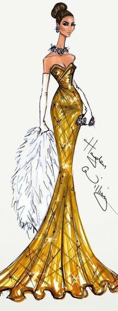 Hayden Williams Fashion Illustration