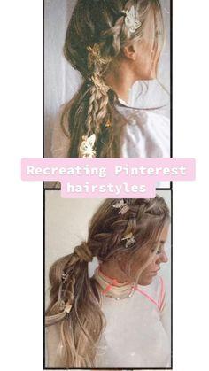 Cute Hairstyles For Medium Hair, Mom Hairstyles, Braided Hairstyles Tutorials, Pretty Hairstyles, Medium Hair Styles, Wedding Hairstyles, Curly Hair Styles, Hairdos, Layered Hair