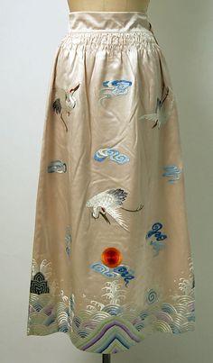 For Shen Teh's - removable skirt - Chinese dress 1930-59, bottom