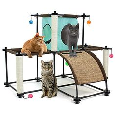 Kitty City Kitty City Steel Claw Starter Kit Cat Furniture -- Visit the image link more details.