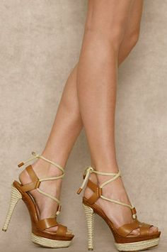 Strappy sandals by Ralph Lauren