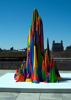 "A conceptual adult artist turned capable child, Sol LeWitt, ""Splotch #15"" from ""Non-geometric Forms,"" 1999."