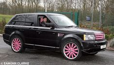 Pink Range Rover!!!