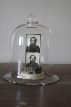 cloche bell jar | vintage glass dome cloche bell jar by littlebyrdvintage on Etsy