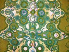 Marjatta Metsovaara Finland by Tampella 70's Vintage Fabric   eBay