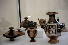 Museum of Komiža (island of Vis - Croatia) in the times of antiquity there was a Greek coloniy on the island of Vis what they left behind are some nice artefacts and seafaring skills