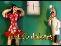 tener & medical expressions & body parts. Kids can hear if doctor/patient uses tú or usted.