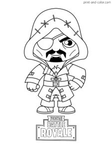 Fortnite Coloring Pages Coloring Pages For Boys