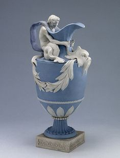 Wedgewood jasperware pitcher dedicated to Neptune, circa 1770's.
