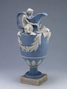 Wedgewood jasperware pitcher dedicated to Neptune, circa 1770's.