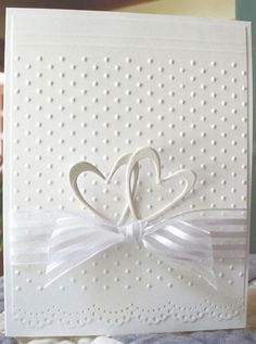 Browse 25 card making tutorials for beautiful handmade wedding cards. These DIY cards are perfect for any happy couple on their big day! Wedding Cards Handmade, Greeting Cards Handmade, Handmade Anniversary Cards, Simple Wedding Cards, Diy Wedding Anniversary Cards, Handmade Engagement Cards, Wedding Day Cards, Anniversary Surprise, Happy Anniversary