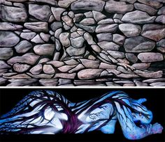 Painted Alive: 15 Boldly Brilliant Body Art Paintings