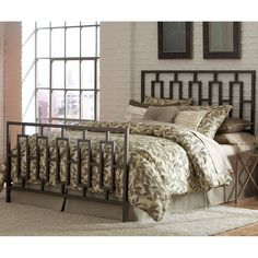 ornate metal bed frame