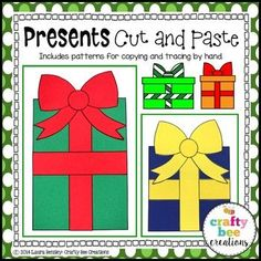 Presents Cut and Pas