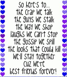 Forever best friends quotes