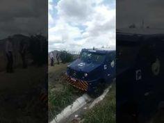 Explosão a carro forte na Paraíba