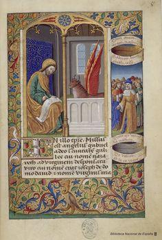 Libro de horas de Carlos VIII, Rey de Francia, Siglo XV  Libro de horas de Carlos VIII, Rey de Francia [Manuscrito]