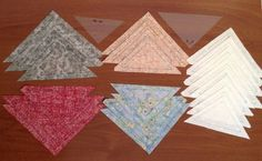 juego de naipes patchwork Tumbling Blocks, Quilling, Quilt Patterns, Patches, Quilts, Blanket, Rugs, Home Decor, Farmhouse Rugs