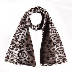 2017 New Style Leopard Print Voile Chiffon Ladies Scarves Bandana Hot Sale Trendy Warm Sping Blanket Long Scarf Shawl