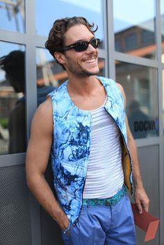 Men NY Street Style for spring 2015 | Milan Men's Fashion Week street style [Photo by Kuba Dabrowski]