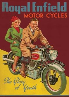Royal Enfield  Motor Cycles vintage