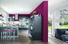 Modern high gloss kitchen - Little Piece Of Me German Kitchen, New Kitchen, Kitchen Decor, Kitchen Design, Handleless Kitchen, Cocinas Kitchen, Scandinavian Interior Design, Home Interior Design, Dreams