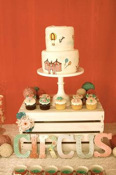 Vintage Circus Birthday Party Ideas | Photo 10 of 58 | Catch My Party