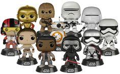 Star Wars Episode VII: The Force Awakens Force Friday Pop! Vinyl Bundle (Set of 11) | Funko Star Wars Ep 7 Force Friday Pop Bundle | Popcultcha