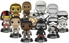 Star Wars Episode VII: The Force Awakens Force Friday Pop! Vinyl Bundle (Set of 11) | Funko Star Wars Ep 7 Force Friday Pop Bundle | Popcultcha