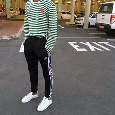Comme Des Garcons PLAY x adidas Sweatpants x adidas Originals Stan Smith