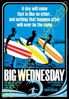 721 BIG WEDNESDAY by John Milius 1978 artistic by Mokusaiya