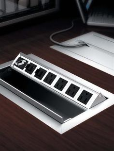 8 best power data modules images conference table desk home office rh pinterest com