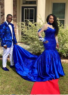 Prom Dresses Elegant, Amazing Royal Blue Long Sleeves Satin Long Train Plus Size Prom Dresses With Appliques, Mermaid prom dresses, two piece prom gowns, sequin prom dresses & you name it - our 2020 prom collection has everything you need! Long Tight Prom Dresses, Classy Prom Dresses, Sequin Prom Dresses, Long Prom Gowns, Plus Size Prom Dresses, Designer Prom Dresses, Ball Gowns Prom, Beautiful Prom Dresses, Mermaid Prom Dresses