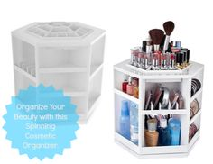 Organize Your Beauty with this Spinning CosmeticOrganizer