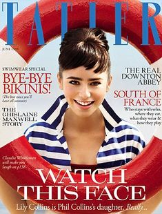 Lilly Collins in a Audrey-esque photoshoot for Talter Magazine #audreyhepburn