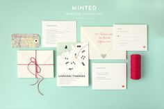 Minted Wedding Invitations + A Discount + Free Shipping!  Read more - http://www.stylemepretty.com/australia-weddings/2013/09/18/minted-wedding-invitations/