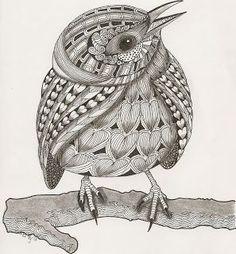 Zentangle Bird Patterns - Bing images