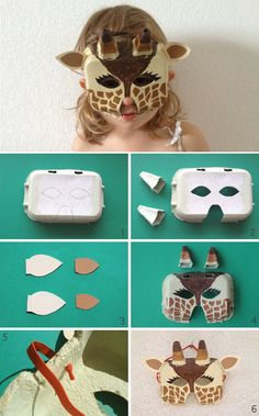 diy masque girafe