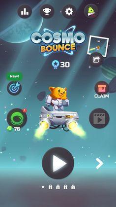 CosmoBounce_1 → раннер, только персонаж в основном не бегает, а летает на джет-паке. Основная фича игры - сеттинг космоса (физика невесомости). Монетизация - реклама.